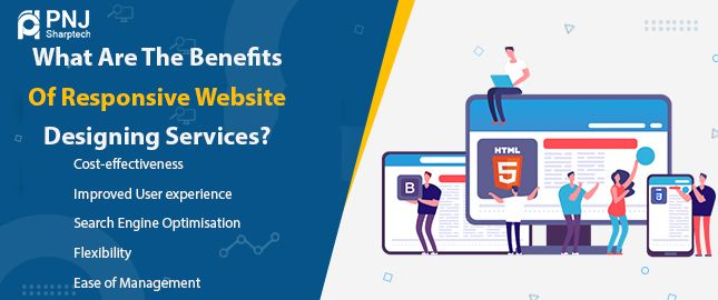 What are the benefits of responsive website designing services